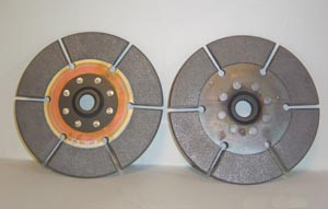 Clutches and clutch pressure plates for racing cars 007