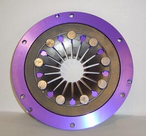 Clutches and clutch pressure plates for racing cars 008