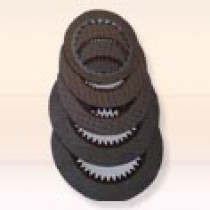 Wet type clutch for racing car