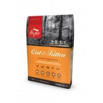 ☆國際貓家,加拿大進口高肉類含量頂級貓食☆Orijen_渴望愛貓5.45KG