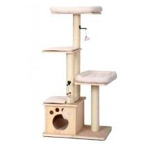 ☆國際貓家☆美國Petpals 天然原木系列-遊憩跳台-4層