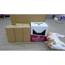 ☆國際貓家,讓貓咪遠離疾病的貓砂☆BOXCAT紅標 頂級除臭無塵貓砂省錢經濟組(24L)