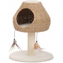 ☆國際貓家☆美國Petpals紙繩編織多功能遊憩貓樹屋
