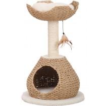 ☆國際貓家☆美國Petpals紙繩編織多功能遊憩貓跳台-2層