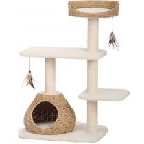 ☆國際貓家☆美國Petpals紙繩編織多功能遊憩貓跳台-4層