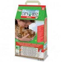 *國際貓家*CAT`S BEST 凱優凝結木屑砂-紅標-10L*5包組-特價1594元【免運費】