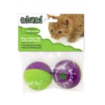 ☆國際貓家,讓您家貓咪動動腦☆GO!CAT!GO!貓咪零食放置球2入組