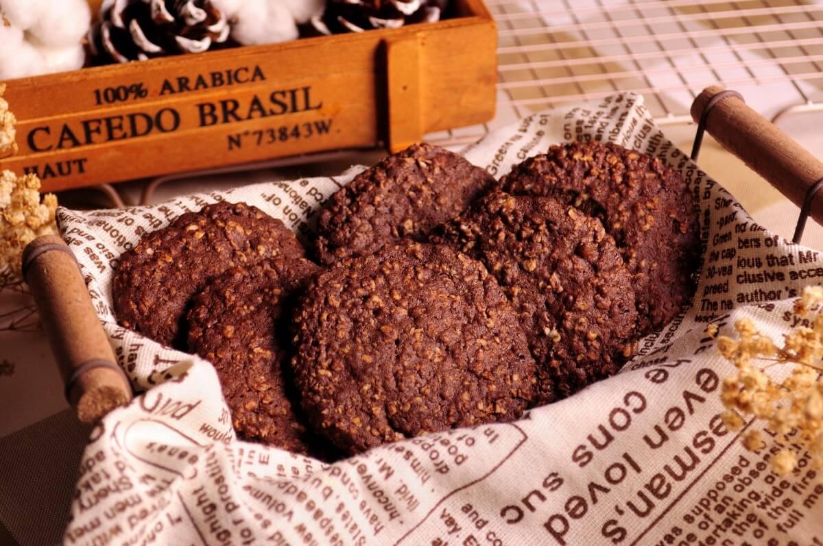 巧克力 可可 燕麥 手工餅乾