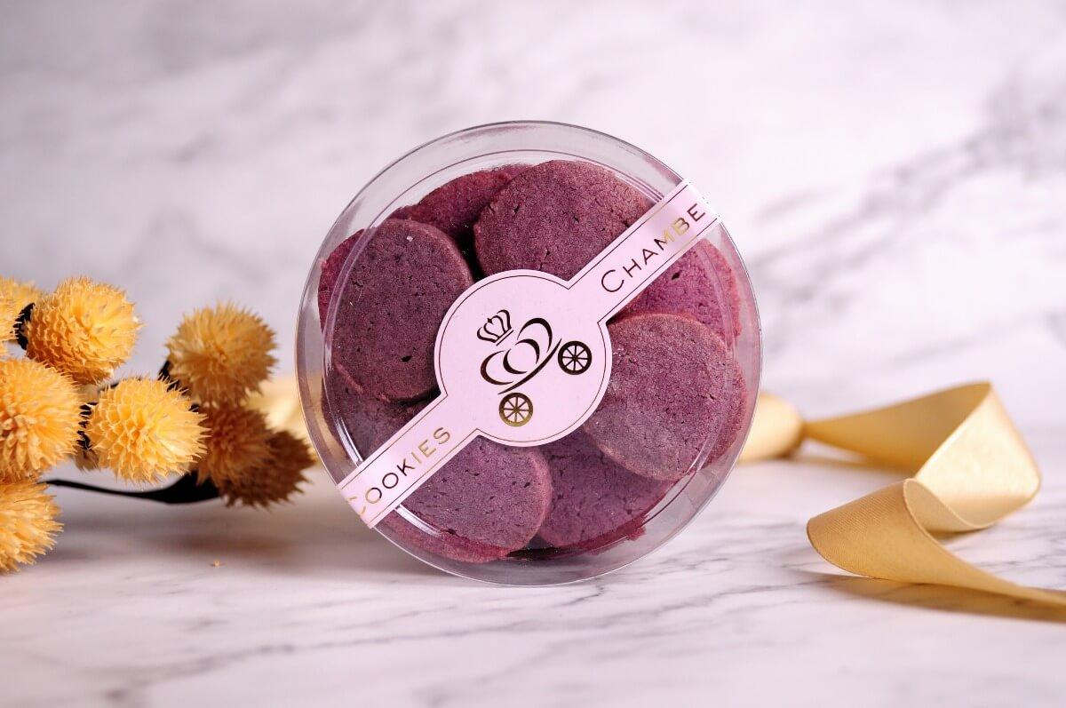 紫心地瓜 手工餅乾