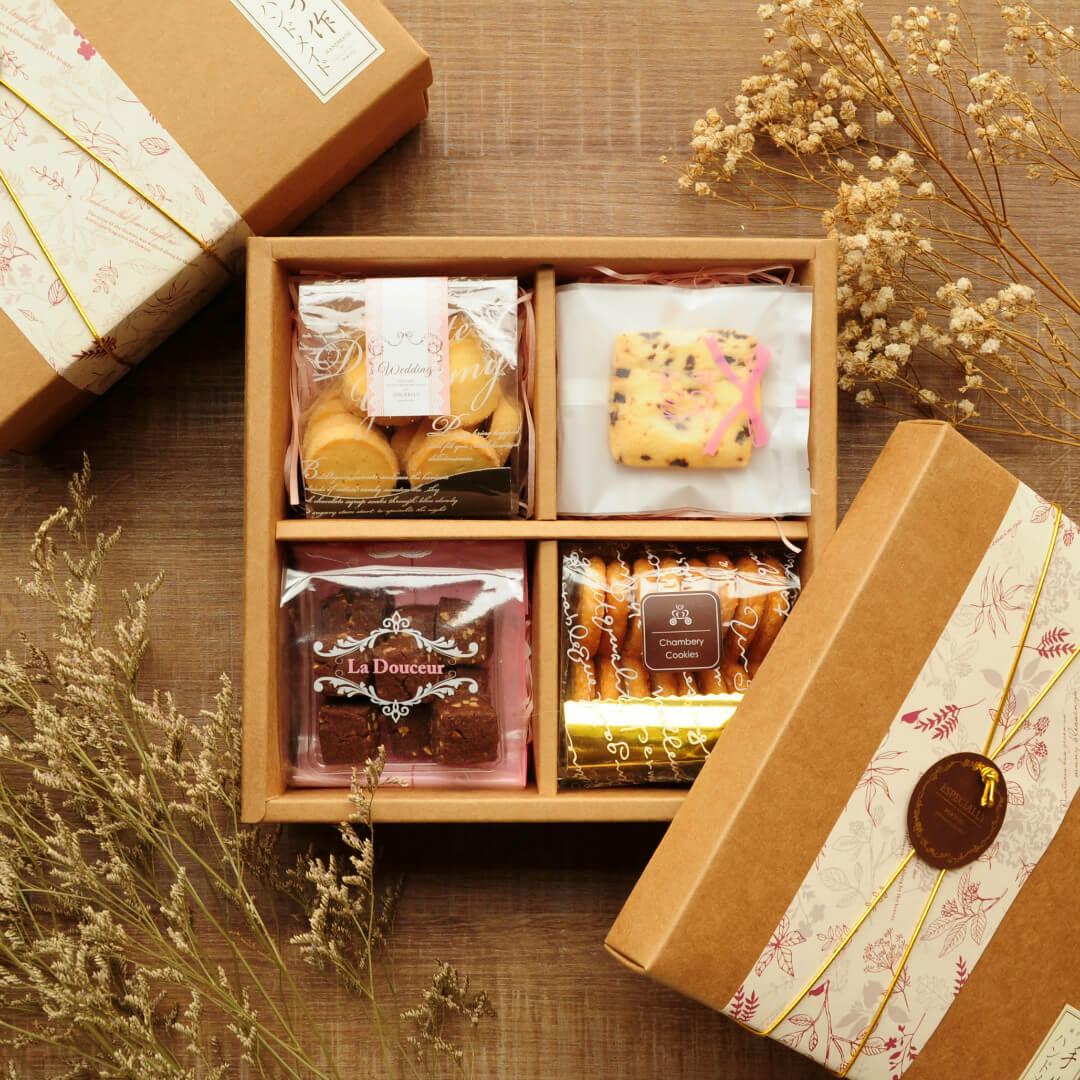 秋月蝴蝶手工喜餅禮盒伴手禮