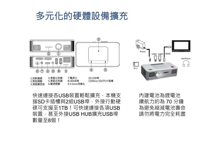 多元化的硬體設備擴充