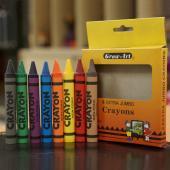 CJ-8C 大型蠟筆 (客製化包裝) (8入裝) - Customized Crayons Jumbo (8pcs pack)