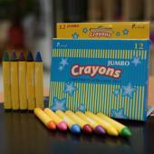 CJ-12C 大型蠟筆 12入裝 Crayons Jumbo (12pcs pack)