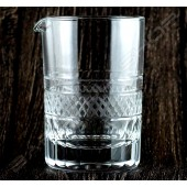 水晶攪拌杯 摩根紋 (大)630ml Crystal mixing glass Morgan  (big)