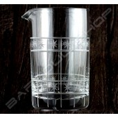 水晶攪拌杯 星空款630ml Crystal mixing glass (sky) H15cm