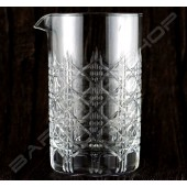 水晶攪拌杯 皇爵款630ml Crystal mixing glass (Royal knight) H15cm