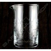 水晶攪拌杯 時尚款630ml Crystal mixing glass (Fashioned) H15cm