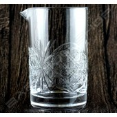 水晶攪拌杯 皇族款630ml Crystal mixing glass (Royal) H15