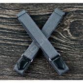 【日本直送】日式伸縮皮飾袖環(純鐵灰) Sleeve garters(D27)