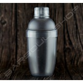 傳統塑料刻度雪克杯530ml Plastic Shaker(transparent)