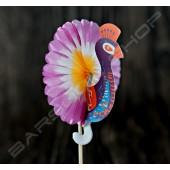 孔雀裝飾物插(約100支) Peacock cocktail stick