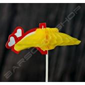 戀愛傘裝飾物插(約100支) Love umbrella cocktail stick