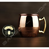 迷你驢子鍍銅杯(鏡面)  Mini donkey copper cup(bright)