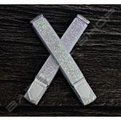 【日本直送】日式伸縮皮飾袖環(白鑽) Sleeve garters(D15)