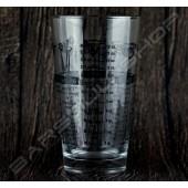 台灣台玻 新款波士頓玻璃內杯(有刻度) 500ml Taiwan New Boston Glass(calibration)
