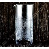 雙功能水晶攪拌杯/吧匙筒(千子星)700ml Crystal mixing glass Star(high)