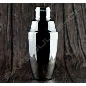 【日本直送】Japan Yukiwa 亮面銀 360ml shaker bright silver