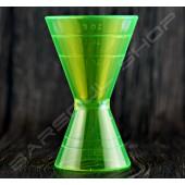 塑料刻度量酒器(綠)60/90ml Plastic Jigger(green)