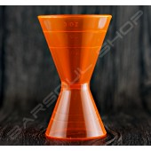 塑料刻度量酒器(橘)60/90ml Plastic Jigger(orange)