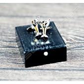 金屬袖扣 雞尾酒杯造型 Metal cufflink(A04)