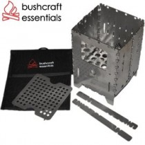 Bushcraft essentials 不鏽鋼口袋柴爐XL套裝+袋 Bushbox XL Combination 德國製 BCE-024