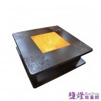 鹽燈能量館-靜思單盤打坐椅