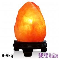鹽燈能量館-精緻特選喜馬拉雅山鹽燈8-9kg 1入