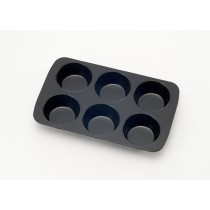 6 CUP NON-STICK MUFFIN PAN