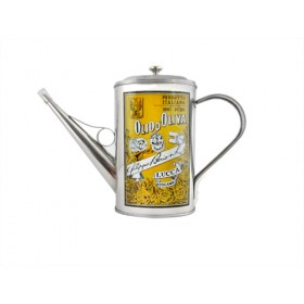 S/STEEL OIL CAN 2 CUP.