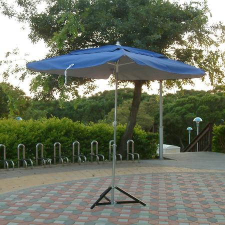 正方傘-抗UV銀膠布