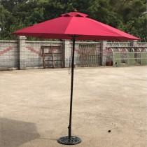 庭院休閒傘-纖維仿木傘架(鐵中棒)