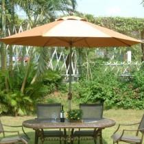 庭院休閒傘-纖維傘架(不鏽鋼中棒)