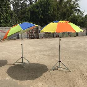 尼龍銀膠子母傘