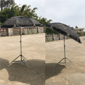 迷彩銀膠子母傘