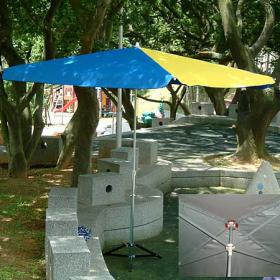 長方傘-特多龍布-一般傘布