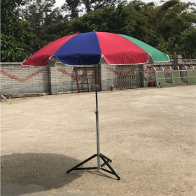 圓傘-抗UV銀膠布