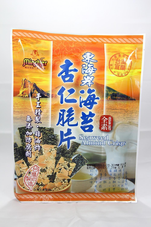 【僅展示無販售】原味海苔杏仁脆片 40g
