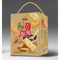 (新款禮盒)麥纖方塊酥 480g
