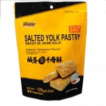 【新品】鹹蛋黃千層酥120g
