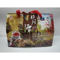 【僅展示無販售】日月潭 紅茶咖啡方塊酥禮盒 600g